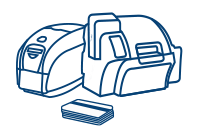 Plastikkartendrucker